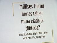 005 Ühisfesti kokkuvõtted Pärnu kolledžis. Foto: Urmas Saard