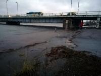 7 Üleujutuse ohus Pärnu. Foto: Urmas Saard