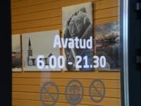 009 Ülo Soometsa isikunäitus Tori bussijaamas. Foto: Urmas Saard / Külauudised