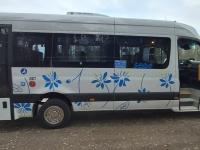 003 Uued SEBE bussid Põja-Pärnumaa liinidel. Foto: Kalju Kasemaa
