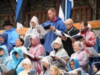 014 Vaba Rahva Laul Haapsalu Piiskopilinnuse õuel. Foto: Urmas Saard / Külauudised