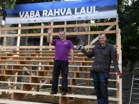 004 Vaba Rahva Laul Piiskopilinnuses. Foto: Urmas Saard / Külauudised