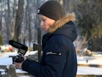 010 Vabadussõja 100. aastapäeva hommikul Sindi Vanal kalmistul. Foto: Urmas Saard