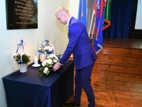 013 Vabadussõjas võidelnute mälestamine Sindi gümnaasiumis. Foto: Urmas Saard