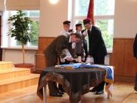 5 Vabariigi lipu õnnistamine Jakob Westholmi gümnaasiumis. Foto: Kaia Rikson