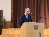 6 Vabariigi lipu õnnistamine Jakob Westholmi gümnaasiumis. Foto: Kaia Rikson