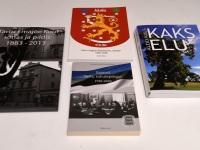 003 Valik raamatuid, mille autor on Aldo Kals. Foto: Urmas Saard / Külauudised
