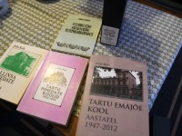 005 Valik raamatuid, mille autor on Aldo Kals. Foto: Urmas Saard / Külauudised
