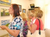 010 Vanda Kirikali teine näitus Sindi muuseumis