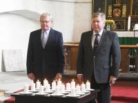 039 Vastupanuvõitluse päeval Keila Miikaeli kirikus. Foto: Urmas Saard Külauudised