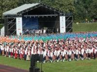5. võimlemispidu Tallinnas. Foto: Helle Vent