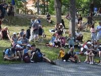 Rohelise lava publik. Foto: Urmas Saard / Külauudised