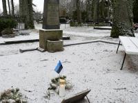 Viktor Araki kalmul, Sindi Vanal kalmistul. Foto: Urmas Saard / Külauudised