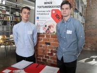 004 Võistlus Pärnumaa parim õpilasfirma 2019 Pärnu kolledžis. Foto: Urmas Saard