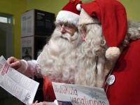 001 XVIII Ülemaaline Jõuluvanade konverents asus teele Sindist. Foto: Urmas Saard