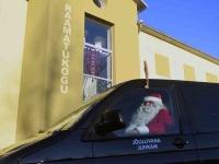 010 XVIII Ülemaaline Jõuluvanade konverents asus teele Sindist. Foto: Urmas Saard