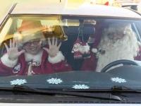 012 XVIII Ülemaaline Jõuluvanade konverents asus teele Sindist. Foto: Urmas Saard