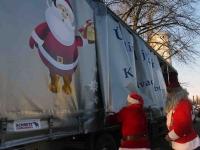014 XVIII Ülemaaline Jõuluvanade konverents asus teele Sindist. Foto: Urmas Saard