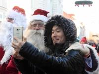 007 XVIII Ülemaaline Jõuluvanade konverents jõudis Pärnusse. Foto: Urmas Saard
