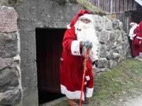 003 XVIII Ülemaalise Jõuluvanade konverentsi esimese adventpüha teekonnal. Foto: Urmas Saard