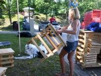 002 XXVI Viljandi pärimusmuusika festivali ettevalmistused. Foto: Urmas Saard
