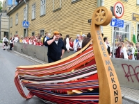 "001 XXVII laulu- ja XX tantsupeo ""Minu arm"" rongkäik. Foto: Urmas Saard"