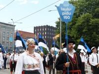 "015 XXVII laulu- ja XX tantsupeo ""Minu arm"" rongkäik. Foto: Urmas Saard"