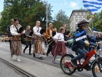 "023 XXVII laulu- ja XX tantsupeo ""Minu arm"" rongkäik. Foto: Urmas Saard"