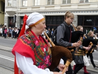 "026 XXVII laulu- ja XX tantsupeo ""Minu arm"" rongkäik. Foto: Urmas Saard"