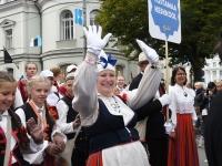 "085 XXVII laulu- ja XX tantsupeo ""Minu arm"" rongkäik. Foto: Urmas Saard"