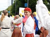 "092 XXVII laulu- ja XX tantsupeo ""Minu arm"" rongkäik. Foto: Urmas Saard"
