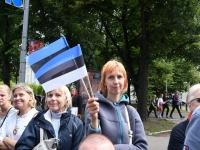 "096 XXVII laulu- ja XX tantsupeo ""Minu arm"" rongkäik. Foto: Urmas Saard"