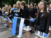 "100 XXVII laulu- ja XX tantsupeo ""Minu arm"" rongkäik. Foto: Urmas Saard"