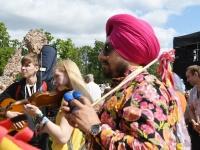003 XXVII Viljandi pärimusmuusika festivali avakontserdil Kaevumäel. Foto: Urmas Saard