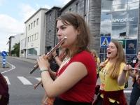 016 XXVII Viljandi pärimusmuusika festivali rongkäik. Foto: Urmas Saard