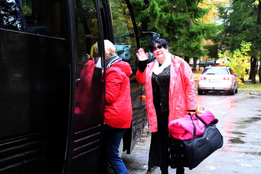 Õpetaja Signe Lensment läheb Sindi gümnaasiumi õpilastega auhinnareisile Foto Urmas Saard