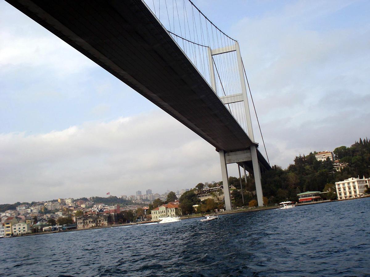 Üks Bosporuse väina ületavaid sildasid Foto Tatjana Grigorjeva-Keerup