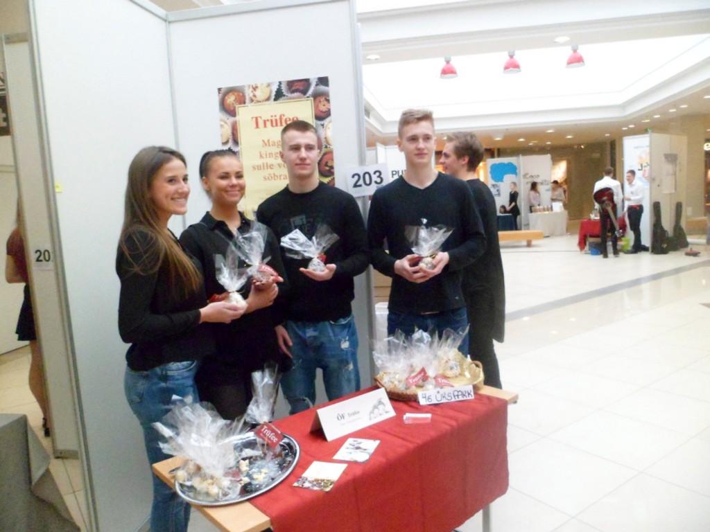 Üleriigilisel õpilasfirmade laadal Tallinna Kristiine keskuses Foto Junior Achievement Eesti