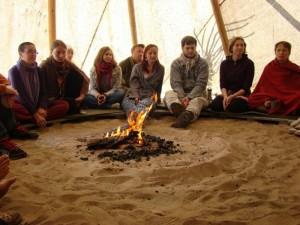 Hetk ökokogukondade ühenduse kokkutulekult. Foto: Katrin Jõgisaar