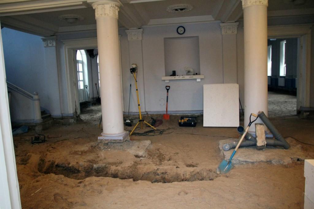 004 Otepaa kultuurikeskuse renoveerimine Foto Monika Otrokova