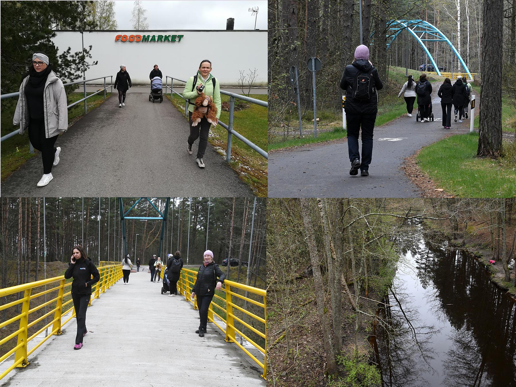 Pärnu Y-klubi Uhla-Rotiküla matkal. Fotod: Urmas Saard  / Külauudised