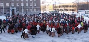 Mullune Viljandi talvine tantsupidu. Foto: Rannar Raba