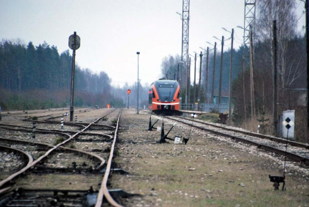 1524 mm rööpmelaiusega Pärnu kaubajaam Foto Urmas Saard