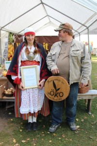 2012. aasta parima mahetootja konkursi võitjad Tiia ja Arvo Klein