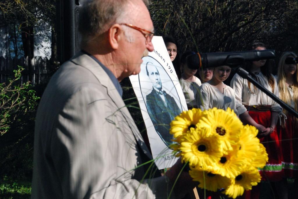 2013. aastal sai Johann Voldemar Jannseni nimelise autasu Feliks Kark, kaaluka panuse eest linna kultuuriellu. Foto Urmas Saard