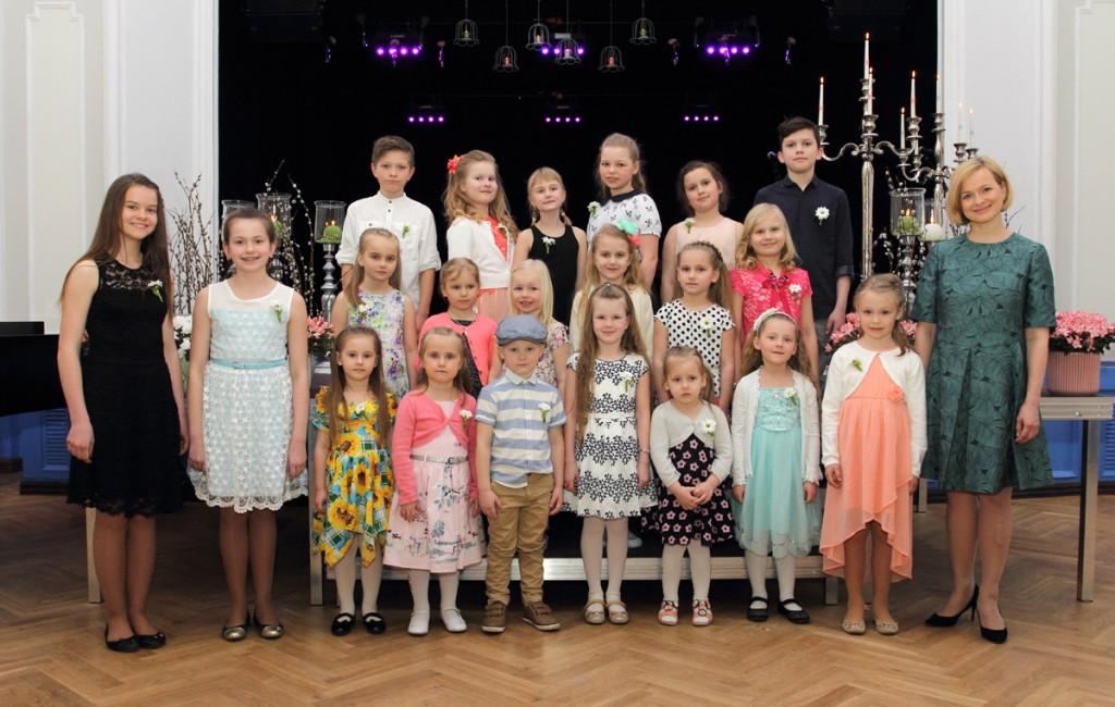 2017 aasta laste lauluvõistlus Otepää kultuurimajas Foto Valju Aloel