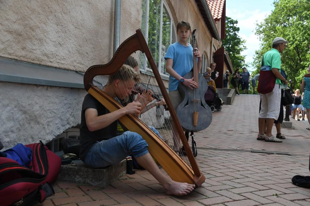 2019. aastal külastas Viljandi pärimusmuusika festivali ligi 25000 inimest. Foto Urmas Saard