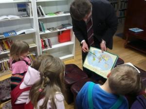 Kohtumine Meremäe raamatukogus.