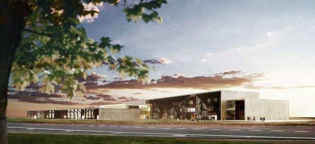 Tulevane Järveküla kool. Foto: Tiit Mõtus