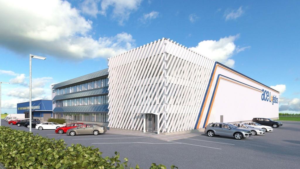 ACE Logistics uus hoone